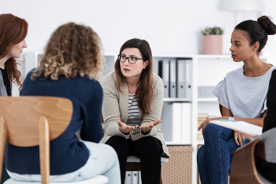 stress and anxiety support group